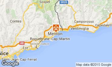 Kaart Menton Appartement 61473