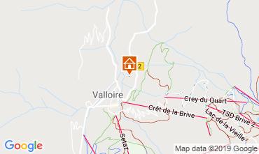 Kaart Valloire Chalet 116466