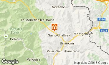 Kaart Serre Chevalier Chalet 30547