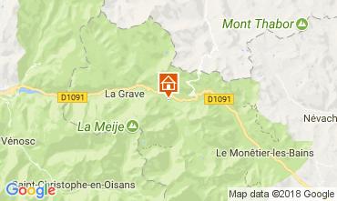 Kaart Villar-d'Arêne Chalet 113346