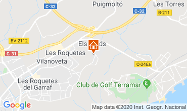 Kaart Barcelona Villa 115621