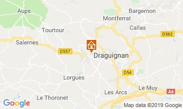 Kaart Draguignan Villa 98537