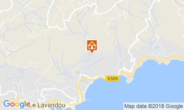 Kaart Le Lavandou Villa 98753