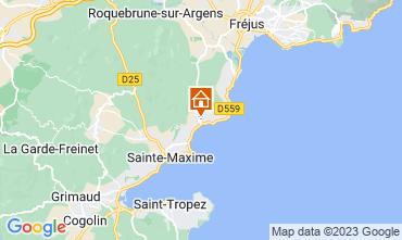 Kaart Les Issambres Appartement 108738