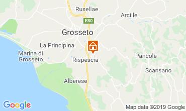 Kaart Grosseto Villa 40862