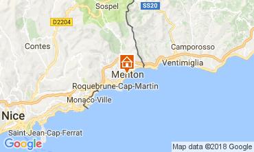 Kaart Menton Appartement 113300