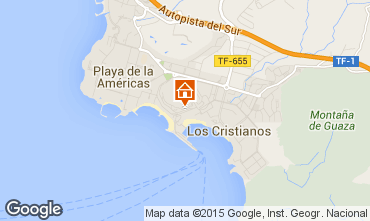 Kaart Los Cristianos Appartement 70136