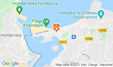 Kaart Hendaye Appartement 113549