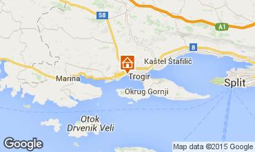 Kaart Trogir Villa 97007