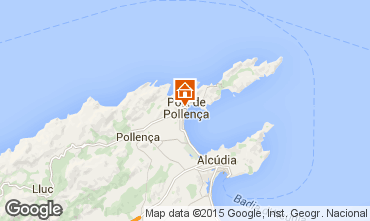 Kaart Puerto Pollensa Appartement 69561