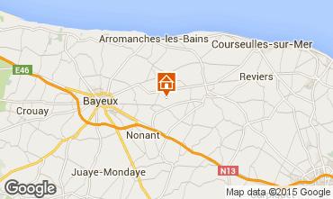 Kaart Bayeux Vakantiehuis 78404