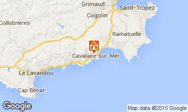 Kaart Cavalaire-sur-Mer Appartement 76631