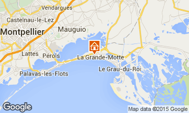 Kaart La Grande Motte Studio 31444