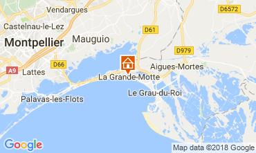 Kaart La Grande Motte Studio 78520
