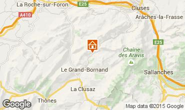 Kaart Le Grand Bornand Chalet 94809