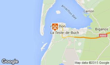 Kaart Arcachon Huis 83818