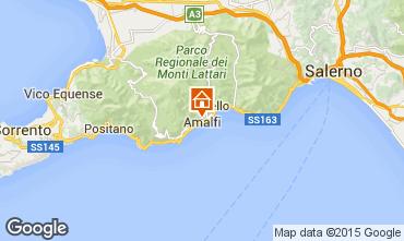 Kaart Amalfi Appartement 25118