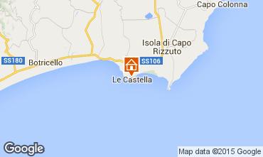Kaart Le Castella Appartement 24518