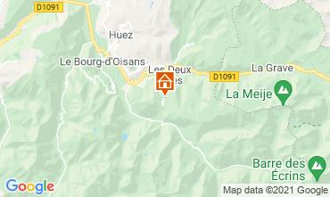 Kaart Les 2 Alpes Appartement 1219