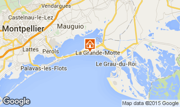 Kaart La Grande Motte Studio 70311