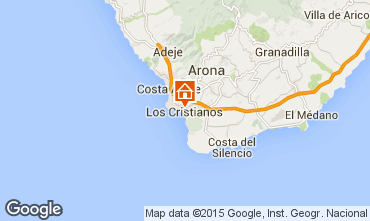 Kaart Los Cristianos Appartement 88879