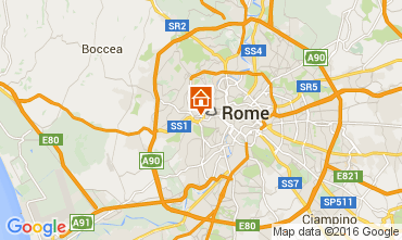 Kaart Rome Appartement 66395