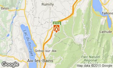 Kaart Annecy Vakantiehuis 51624