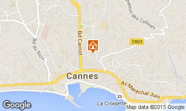 Kaart Cannes Studio 34288