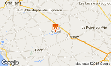 Kaart Saint-Gilles-Croix-de-Vie Huis 68208