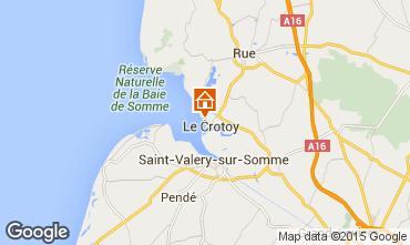Kaart Le Crotoy Huis 78797