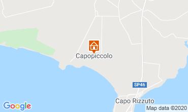 Kaart Isola di Capo Rizzuto Appartement 72903