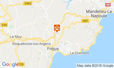 Kaart Fréjus Villa 109566