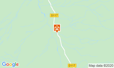 Kaart Les Menuires Chalet 26775