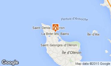 Kaart La Brée les Bains Huis 58139