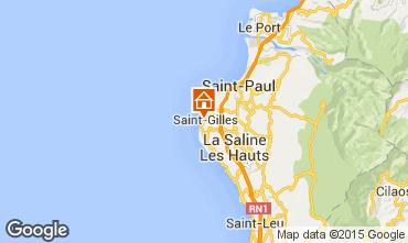 Kaart Saint Gilles Studio 97488