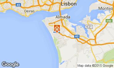 Kaart Lissabon Villa 55207