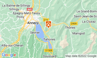 Kaart Annecy Appartement 67836