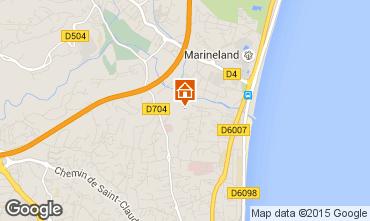 Kaart Antibes Appartement 92274