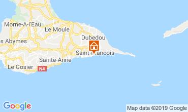 Kaart Saint Francois Appartement 118326