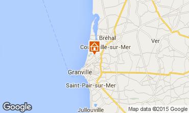 Kaart Granville Appartement 79335