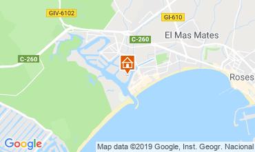 Kaart Rosas Appartement 114884