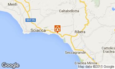 Kaart Sciacca Appartement 78292