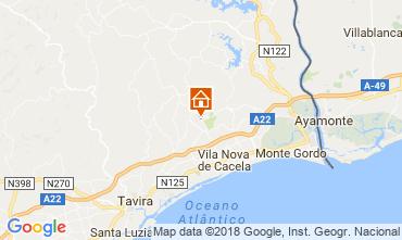 Kaart Tavira Villa 113823