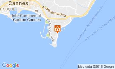 Kaart Cannes Appartement 107260