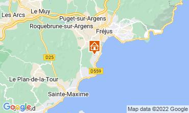 Kaart Les Menuires Chalet 73309