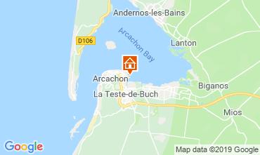 Kaart Arcachon Appartement 119019