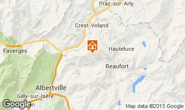 Kaart Les Saisies Appartement 26237