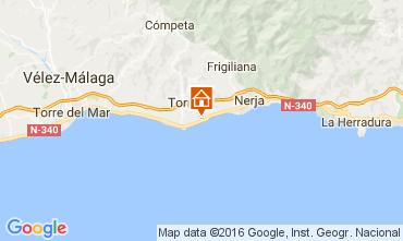 Kaart Málaga Appartement 106830