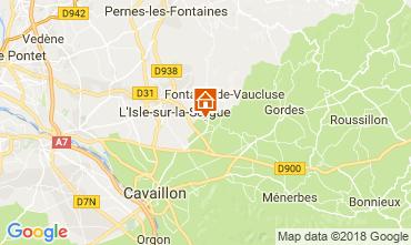 Kaart Isle sur la Sorgue Vakantiehuis 113715