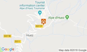 Kaart Alpe d'Huez Appartement 117471